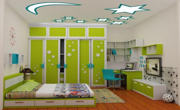 Màu Sắc Phòng Ngủ Dành Cho Bé Trai